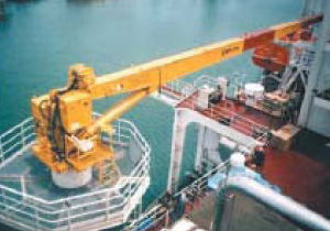 Straight (Box) Boom Crane (Offshore Maintenance and Provisioning Crane)